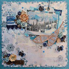 Bo Bunny Woodland Winter