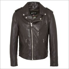 e86ed2bf6e Ανδρικό δερμάτινο μπουφάν SCHOTT N.Y.C. Μοντέλο  Perfecto Leather Jacket  1140 Δέρμα  black nappa Τιμή