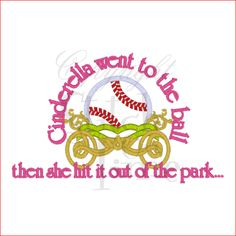 pictures and quotes on softball   Softball (1) Never Give Up Applique 6x10