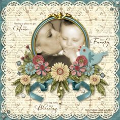 My grandson and Mom. Created with my Roots of Love collection.   Digitals Store: http://digitalscrapbookpages.com/digitals/index.php?main_page=product_info=26_352_id=28714    DDR Store: http://www.digidesignresort.com/shop/roots-of-love-collection-pak-s4h-by-colleen-lynch-p-16431