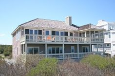 Bethany Beach DE, 5 Bedroom 4.5 Bath Ocean Front home for rent. Call Greg Murphy at Crowley Associates Realty -1800 732-7433 for details