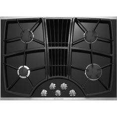 Kitchenaid KGCD807XSS 30-Inch, 4-Burner Downdraft Cooktop