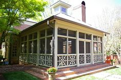 great screened porch