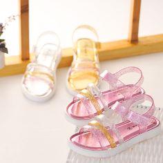 2016 children's summer beach sandals non-slip flat heels casual shoes outdoor princess sandals for kids size 24-35