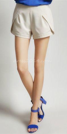 Woman's Casual Stylish Irregular Short Pant