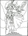 GODS & HEROES of ancient GREECE and ROME - Coloring pages for kids