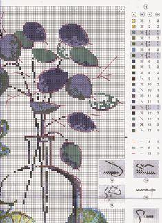 Схема вышивки натюрморт от риолис