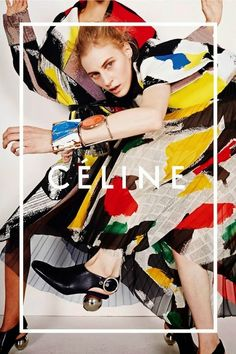 Celine ad campaign