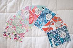 Free Lilly Pulitzer Binder Cover Printables