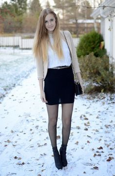 First snow (by Anna K) http://lookbook.nu/look/4171172-first-snow