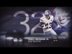 NFL TOP 100 PLAYERS OF 2015 - (#32) - Odell Beckham, Jr.