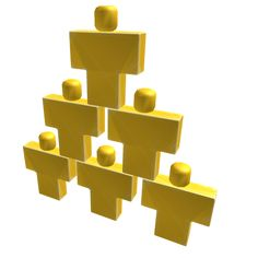 Solid Gold Pyramid of Interns - ROBLOX