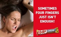 KitKat Chunky, Sometimes four fingers just isnt enough