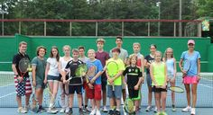 We had some skilled Tennis players this summer!