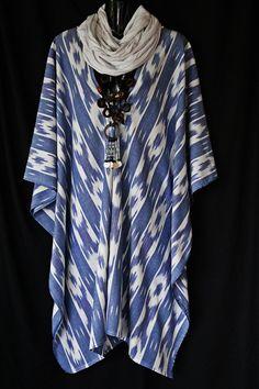 Natural weave Ikat Cotton Kaftan by MollyKaftans on Etsy, $119.00