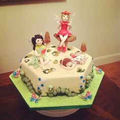 Butterfly fairy cake