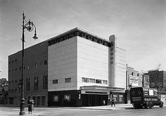 https://flic.kr/p/ecprpp | Odeon Hackney 1938 | The Odeon at Hackney Road, Hackney London 1938. by Architect Andrew Mather had seating for just under 2000. (EH Archive Image)