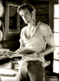 there is inspiration everywhere — Matt Bomer GQ Sepia Edit by PinkLemonDesigns