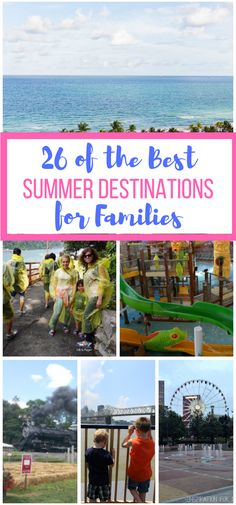 26 of the Best Summer Destinations for Families - Giggles, Gobbles and Gulps Top Family Vacations, Family Travel, Travel Advice, Travel Tips, Travel Destinations, Families, Good Things, How To Plan, Vacation Ideas