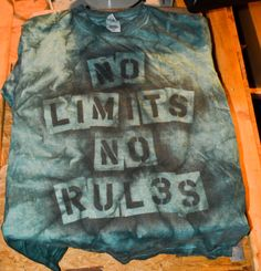 Custom Made Art TShirt No Limits No Rul3s by TheArtsofTimeandLife, $20.00
