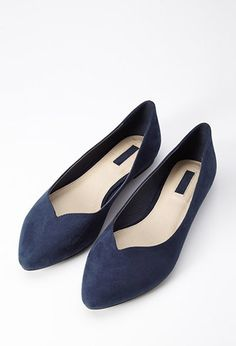 Faux Suede Pointed Flat | FOREVER21 - 1000172499