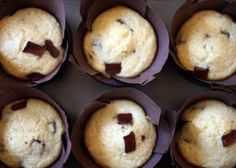 Chocolate Chunk Muffins BAKERELLA