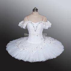 2246fc908f 2014 Women/Adult /Child/Kid Ballet White Ballet Tutu,Girls Professional  Dresses ,Classical Tutu Skirts For Competition BT9001