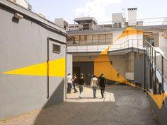 Felice Varini, Italy + Germany - unurth   street art