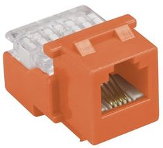Allen Tel AT24-16 Category 3 Compact Jack Module, Orange, 1 Port, EIA/TIA 568A/B Wiring, 110 Termination, 4 Conductor by Allen Tel. $7.89. From the Manufacturer                Designed to Perform -- Allen Tel Products, Inc. offers a complete solution of high performance communication modules for copper, fiber and CATV/Video applications. Our Versatap modular products are designed for maximum performance, interoperability, reliability and ease of installation. Channel Perfo...