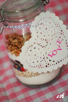 DIY-Keks-Backmischung im Glas