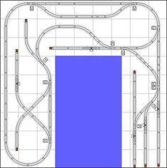 Track Plans and Ideas – Trainz Ho Trains, Model Trains, Lego Track, Lionel Trains Layout, Model Railway Track Plans, Electric Train, Model Train Layouts, Train Set, Planer