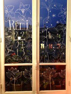 Dessin fenêtre pour un anniversaire - Sophie Plouvier