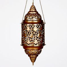 Punched Metal Hanging Lantern  SKU #445569  $29.99  Write a Review