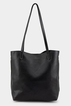Tangy Basic Tote Vegan Leather, Handbags, Classic, Black, Essentials, Christmas, Products, Stuff Stuff, Derby