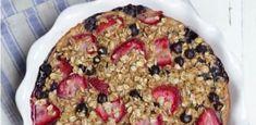 Clafoutis de flocons d'avoine aux fruits WW