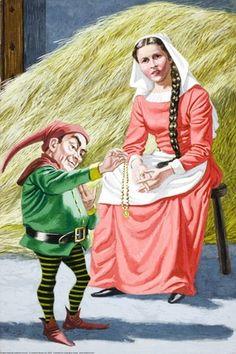 Rumpelstiltskin takes her necklace - Rumpelstiltskin