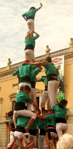 4de7a. Castellers de Sant Pere i Sant Pau de Tarragona.