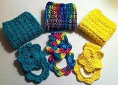 Ravelry: Project Gallery for Buttonless Towel Topper/Ring pattern by Christy Hall