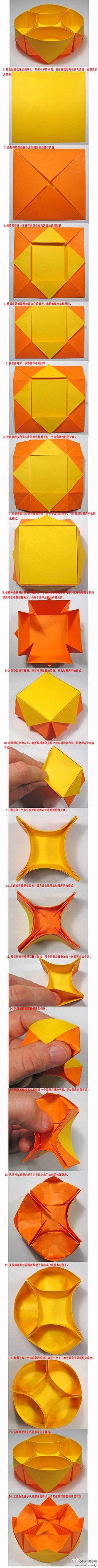 Origami  caixas