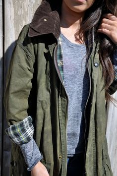Fall Inspiration. Classic Barbour.