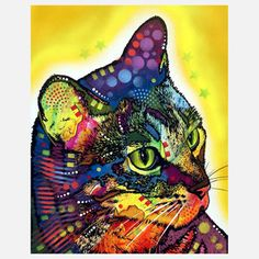 The Confident Cat, $17.50, now featured on Fab.  I really do LOVE & WANT one, two or all of the 'cat prints' by this artist! NEED THEM closer to real urgency I feel ♥ This artist and I may actually be ABFF (Artistic Best Friends Forever)