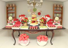 Candy apple love birthday party!