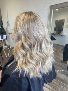 Blonde hair with beachy waves Dimensional Brunette, Hair Colour, Color, Beachy Waves, Hair Studio, Blonde Hair, Stylists, Long Hair Styles, Beauty