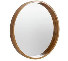 Buy Heart of House Holt Deep Round Wall Mirror - Oak Effect at Argos.co.uk, visit Argos.co.uk to shop online for Mirrors, Home furnishings, Home and garden
