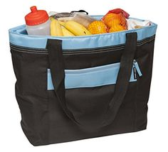 Insulated Soft Tote Cooler Bag By Freddie And Sebbie $19.97 | 21 Things Every Traveler Wishes They Owned | GiftTITAN