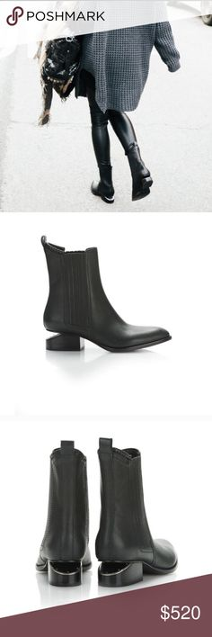 NIB Alexander wang anouck boots 36 NIB! Save on taxes and whatnot. My friend kindly gifted these at Xmas exchange bc she knows how much I love my AW koris but she got the sizing wrong. AW shoes are TTS in my experience. Size 36 US 6 Alexander Wang Shoes