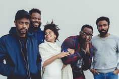 The Cast of 'Atlanta' on Trump, Race and Fame The breakout FX comedy, created by Donald Glover, returns with a grittier new season. Atlanta Season 2, Atlanta Fx, Atlanta Series, Series Movies, Movies And Tv Shows, Tv Series, Hip Hop Radio, New York Times Arts, Season 2 Episode 1