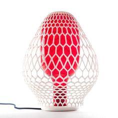 Rhizaria & Biophilia 3D-printed Lamps by Lanzavecchia + Wai