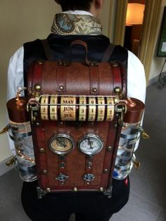 Image result for steampunk backpack wing support