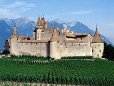 Chateau d Aigle, Switzerland